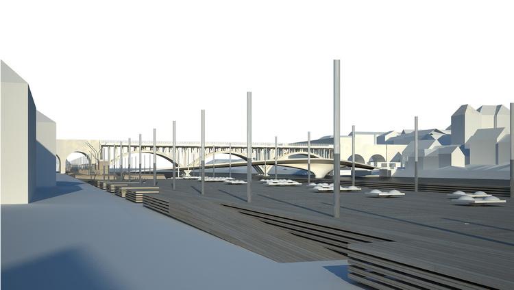 德拉瓦河的堤岸改造