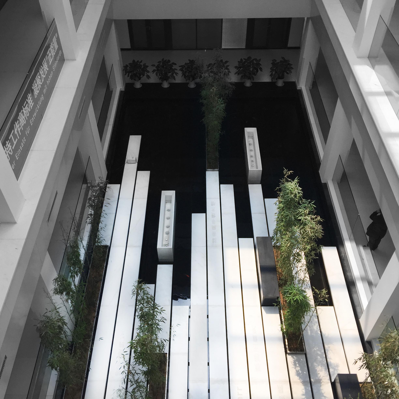 青岛中德生态园中庭景观设计