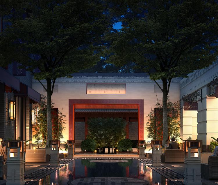 北京京投发展檀香府