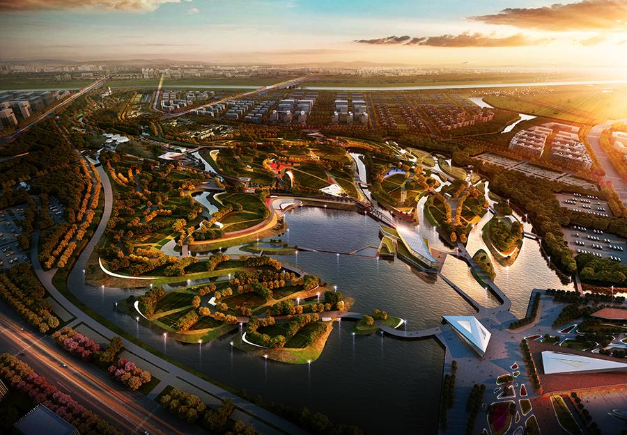 第十一届中国(郑州)国际园林博览会园博园
