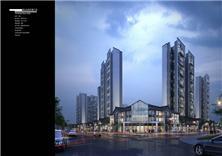 建筑设计-湖北东湖万景广场项目