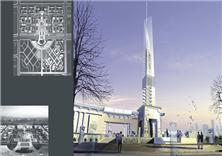 建筑设计-滕州行政商务办公区项目
