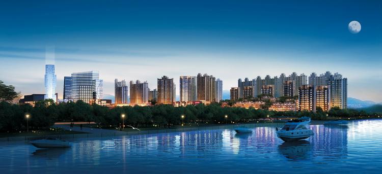 建筑设计-江西信江国际酒店住区项目