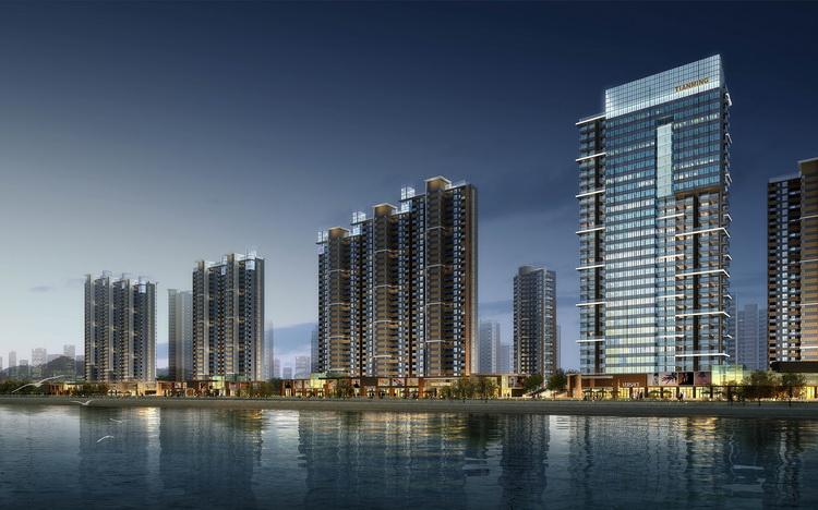 建筑设计-河南洛阳天明城项目