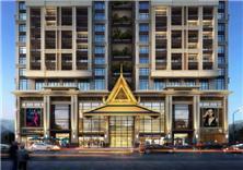 建筑设计-柬埔寨金边太子中央广场项目
