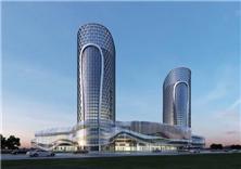 建筑设计-郑州明天世纪中心项目