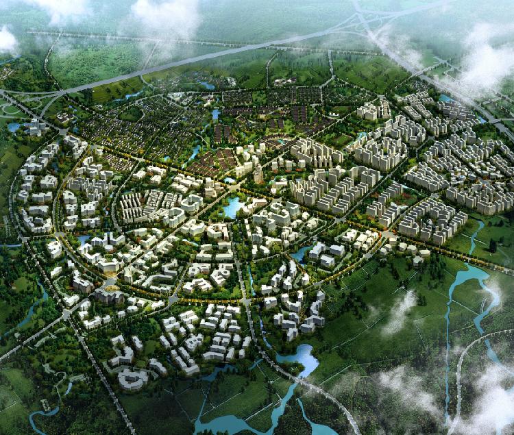 成都国际医学城概念规划(世界现代田园城市高端健康产业先行者)