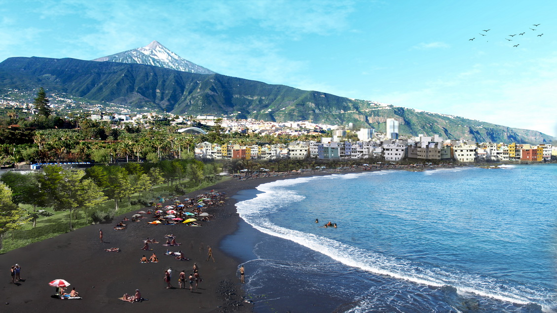 Puerto de la Cruz Waterfront and Marine Park