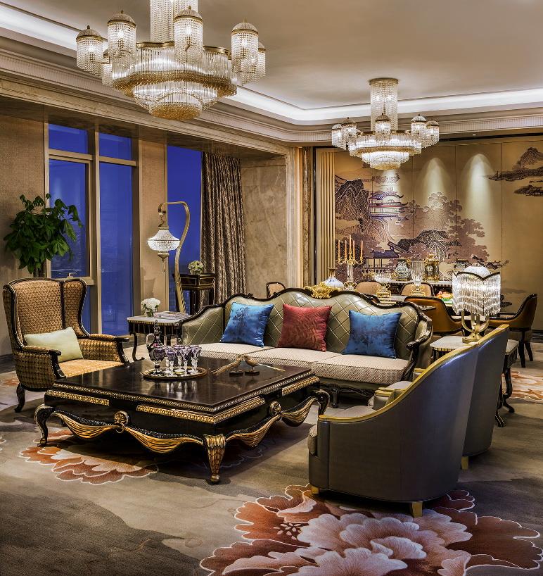 董事套房客厅Chairman Suite Living Room.jpg