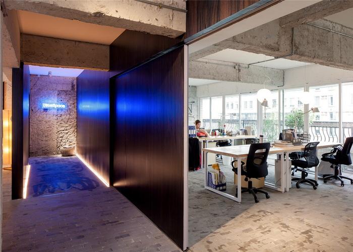 时尚的清贫-Blues Space 办公室