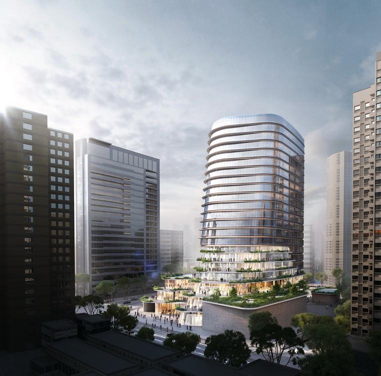 上海金地商置长寿路项目
