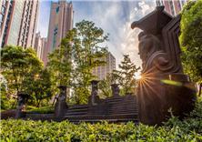 上海中环名品公馆景观设计