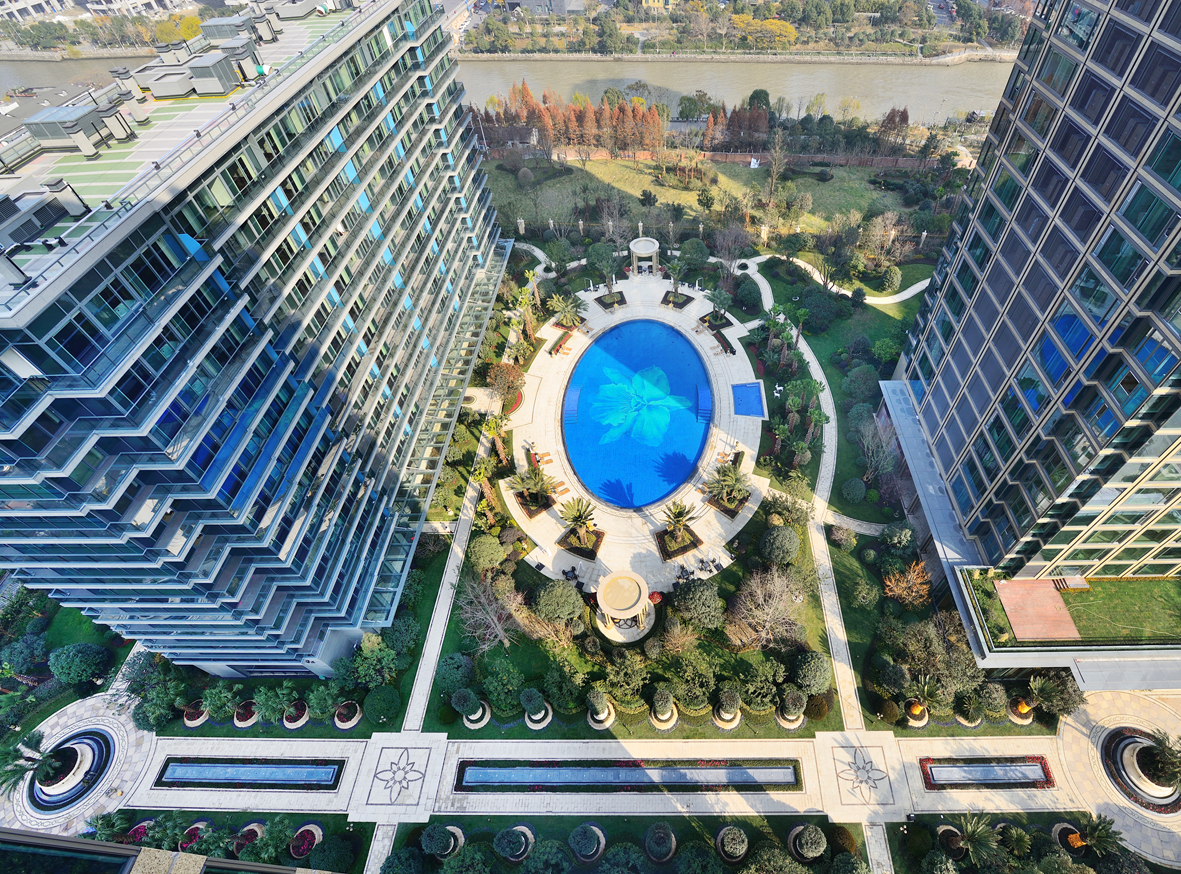 杭州滨绿武林壹号景观设计