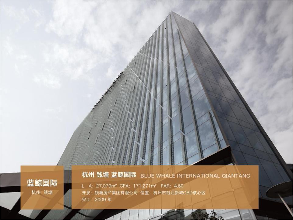 杭州钱塘蓝鲸国际大厦