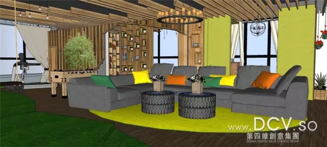 西安周边现代创意多功能厅室内设计-北航科技园(神舟四路十字东南角)