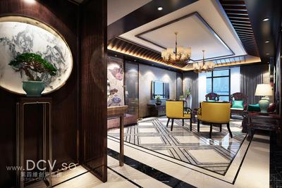 西安最炫的住宅设计-韩城新中式