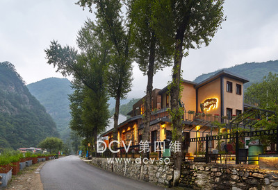 西安最知名的度假的民宿酒店设计-商洛97号Motel动车驿站美式乡村客栈