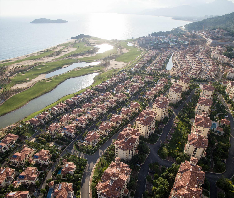 海南金泰南燕湾景观设计