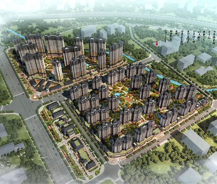 汉中兴元新区安置住宅小区核心地块