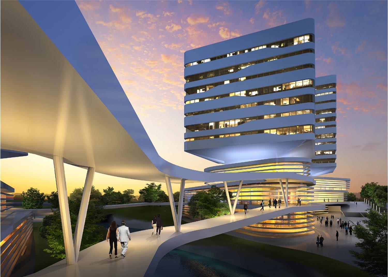青岛中德生态园德国企业中心