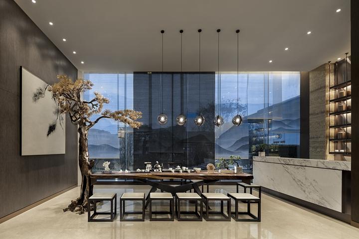 广州金融街售楼处室内设计