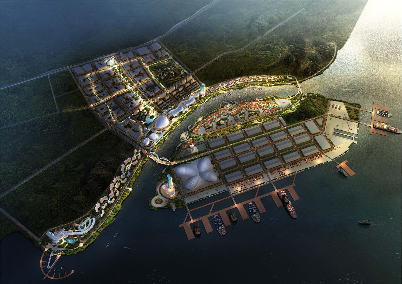 运河与海·国际海洋特色小镇概念设计