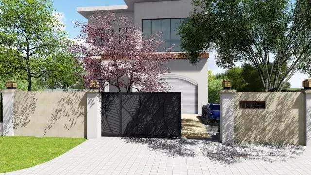 深圳奥斯汀生态环境设计--高尔夫别墅景观设计