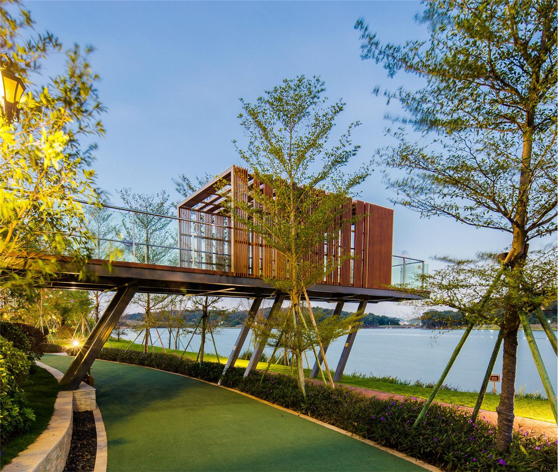 佛山中海山语湖景观设计