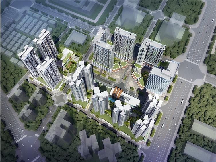 佳兆业龙岗未来城项目