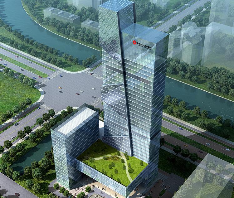 江苏吴江农村商业银行滨湖新城总部经济综合营业大楼