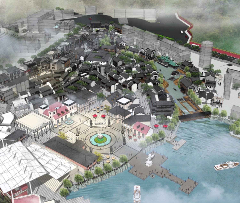横店广州街与香港街文旅小镇