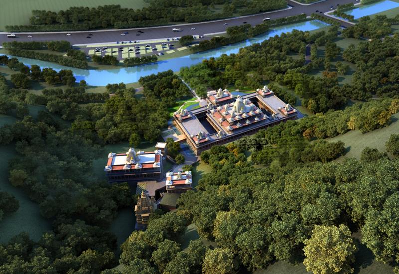 浙江温州市龙湾区龙庆寺重建工程方案设计