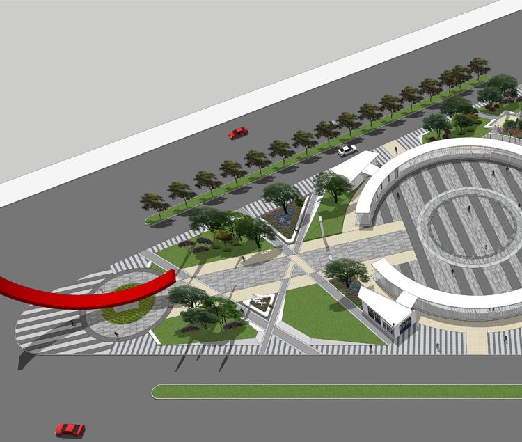 城西广场景观设计