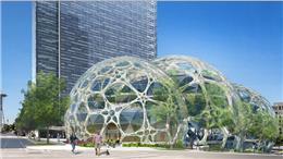 西雅图亚马逊总部办公建筑方案设计