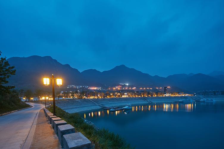 青田千峡湖旅游度假小镇