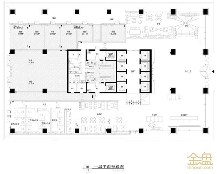 长沙旭辉国际广场C1大堂平面图.jpg