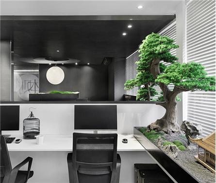 """本则办公室设计:以濯濯松风构建""""灵的境界"""""""