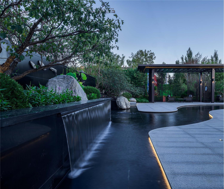 沈阳龙湖九里晴川示范区景观设计