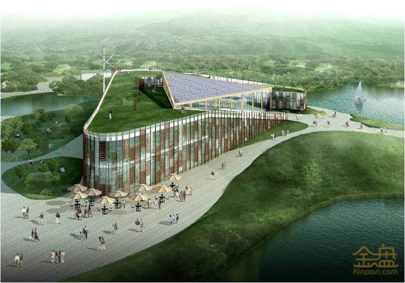 杭州西溪湿地公园龙舌嘴游客服务中心