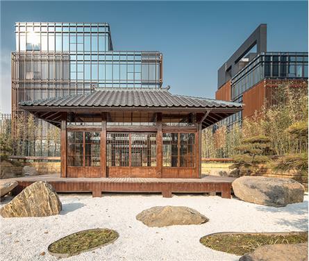 保定智慧谷文化創意產業園內核公園