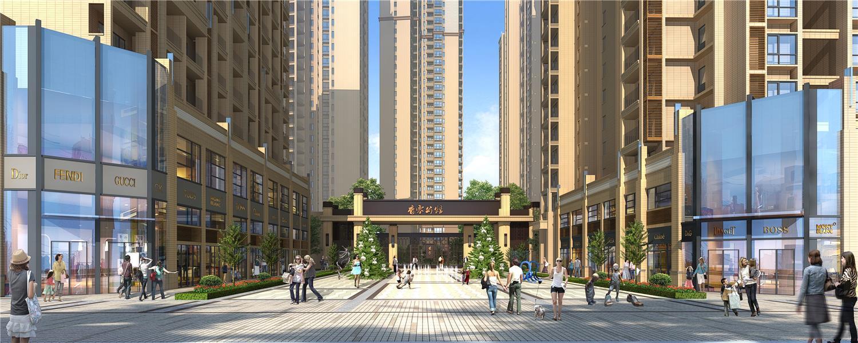 湖南永州香零公馆景观设计
