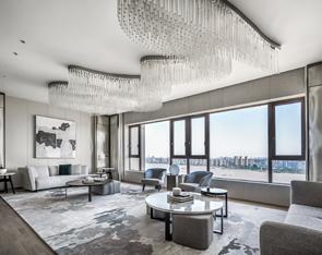 515㎡ 大平层私宅设计,美学体验与生活温度无间交融!