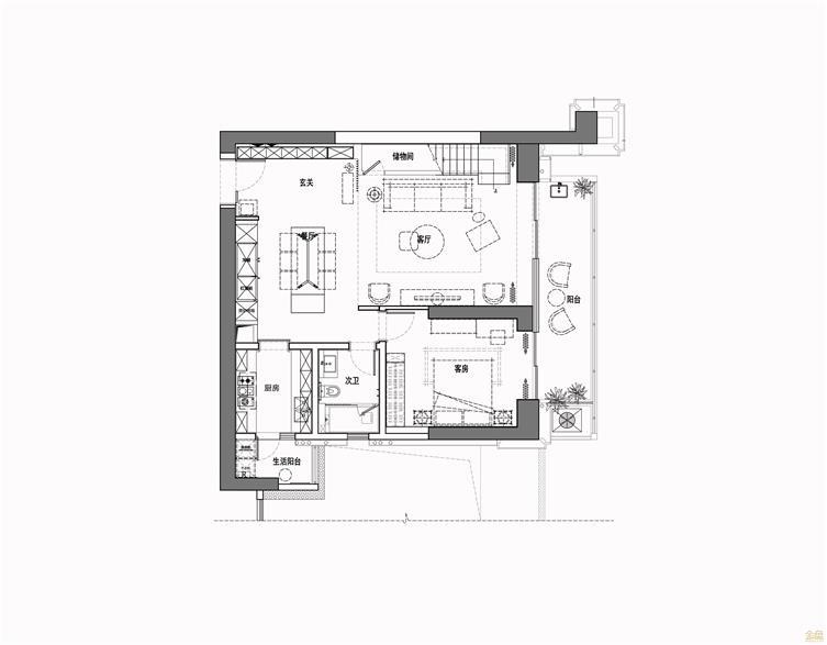 招商双玺私宅设计:和乐静美的东方之境!
