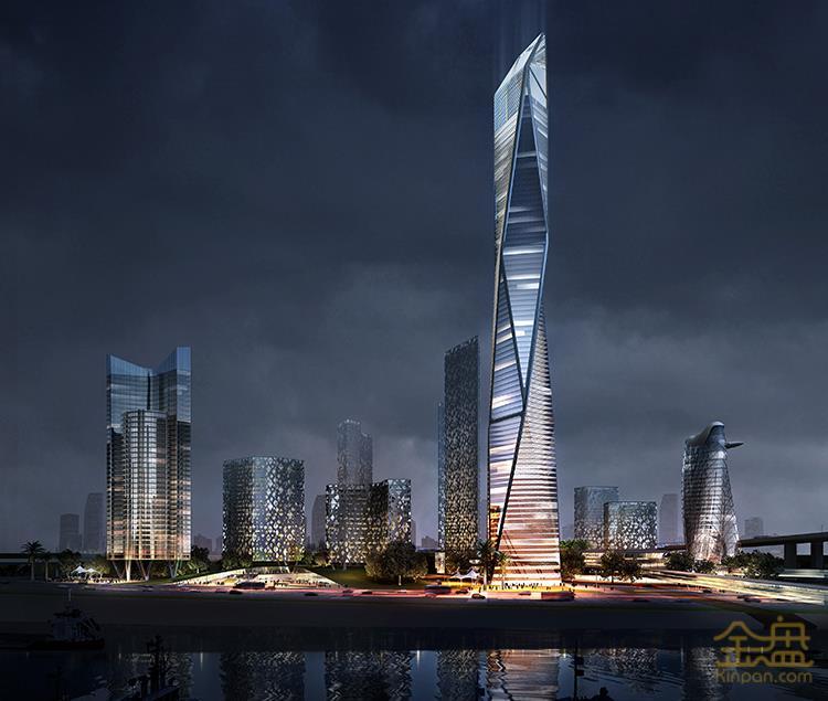 金三角城市综合体城市设计