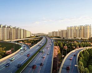 南京市主要道路(二桥连接线)两侧城市设计