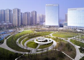 南昌绿地国博会展庆典公园