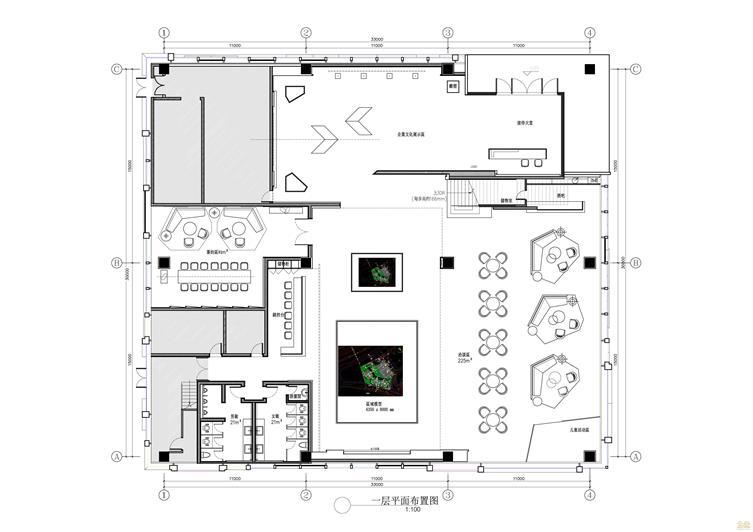 正荣·财富中心A地块二期类住宅销售中心室内精装平面_1F-01.jpg