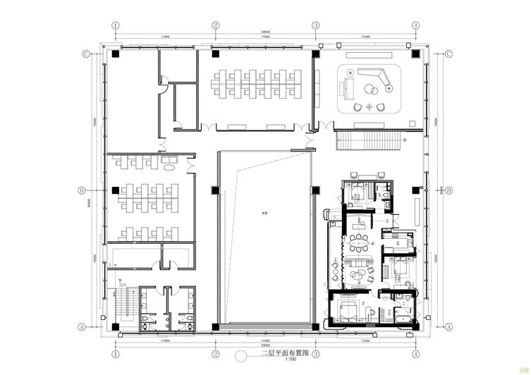 正荣·财富中心A地块二期类住宅销售中心室内精装平面_2F-01.jpg
