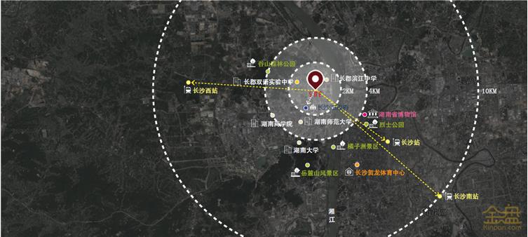 长沙龙湖·春江郦城展示区