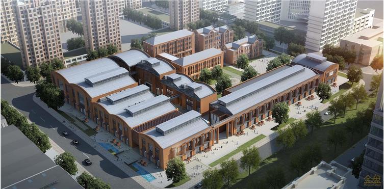 天津融创天拖五号厂房改造设计